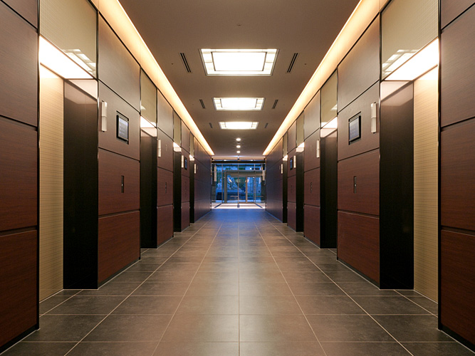 overview of the office floors